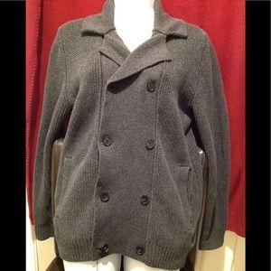 Cozy Charcaol Gray Peacoat sweater✨NEW item
